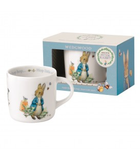 Wedgwood Peter Rabbit Nurseryware Becher mit Henkel Boys