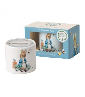 Wedgwood Peter Rabbit Nurseryware Spardose Boys