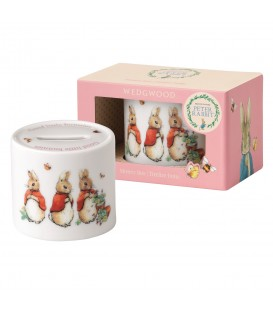Wedgwood Peter Rabbit Nurseryware Spardose Girls
