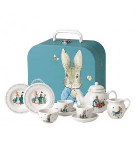 Wedgwood Peter Rabbit Nurseryware Kinder-Tee-Set