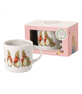 Wedgwood Peter Rabbit Nurseryware Becher mit Henkel Girls